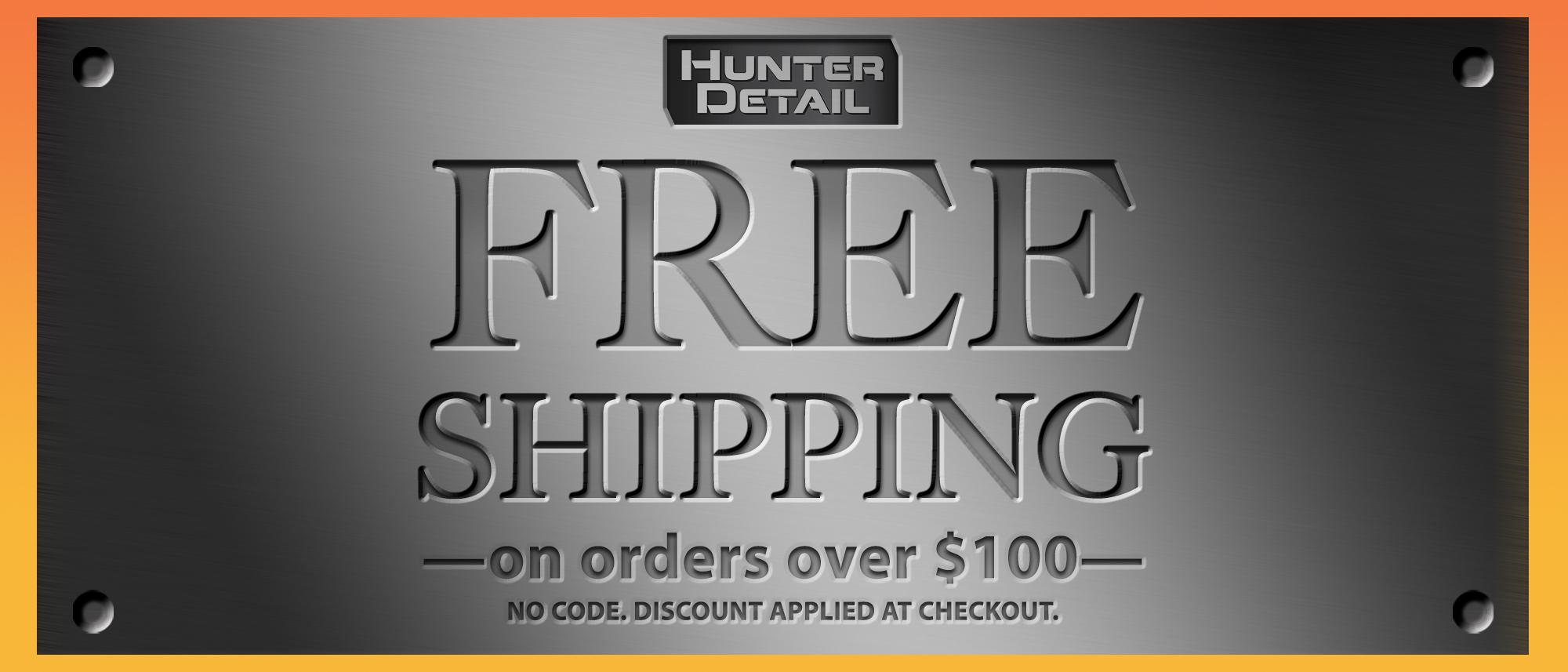 Hunter Detail Free Shipping